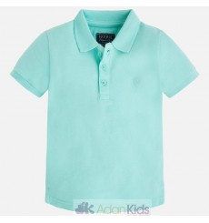 Polo m/c granito basico Ice green