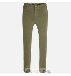 Jeggings strass Verde caza