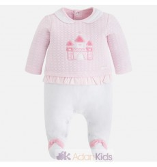 Pelele pullover Rosa baby