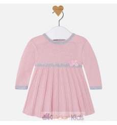 Vestido tricot Old pink