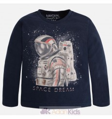 "Camiseta m/l ""space dream"" Titanio"