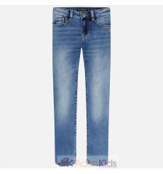 Pantalon knit denim Basico