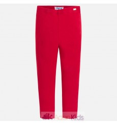 Leggings basico largo Rojo