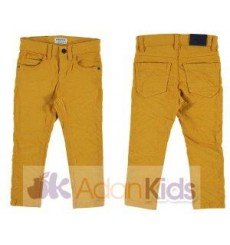 Pantalon sarga slim fit basic Honey