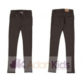 Pantalon felpa basico Chocolate