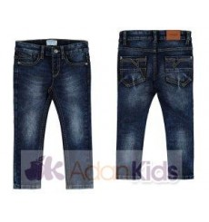 Pantalon denim super slim Oscuro