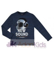 "Camiseta m/l ""new sound"" Crepusculo"