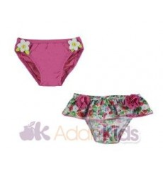 Set 2 culetines Fucsia