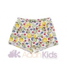 Short estampado Amarillo