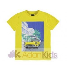 "Camiseta m/c ""car"" Yellow"