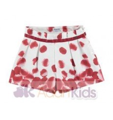 Short estampado Rojo