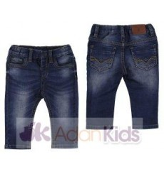 Pantalon soft denim Oscuro
