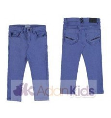 Pantalon soft slim fit Lago