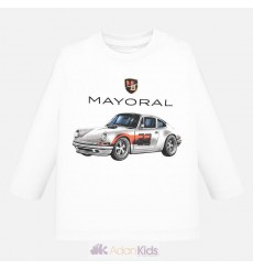 "Camiseta m/l ""car"" Blanco"