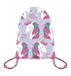 GYM BAG UNICORNIO 33X44