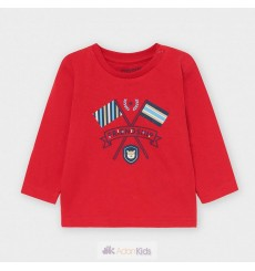 "Camiseta m/l ""friendship"" Rojo Ref. 2049"