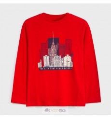 Camiseta m/l city Rojo Ref. 7049