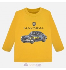 "Camiseta m/l ""car"" Maiz"
