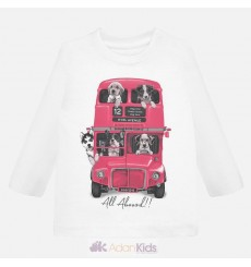 "Camiseta m/l ""bus"" Blanco"