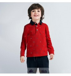 Polo m/l estampado Cherry Ref. 4131